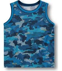 camiseta regata marisol - 10316241b azul - azul - menino - dafiti