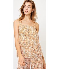 loft animal spotted pajama cami
