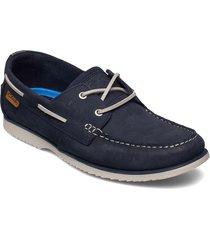 noonan lace loafers låga skor blå clarks