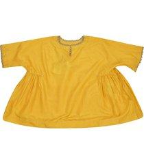 péro pendant detail blouse