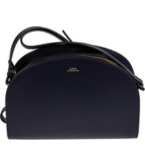 a.p.c. demi lune shoulder bag