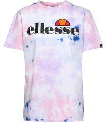el albany tie dye tee t-shirts & tops short-sleeved multi/mönstrad ellesse