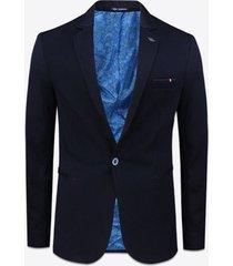 blazer gabbiano denim 2180 jersey cotton blazer navy