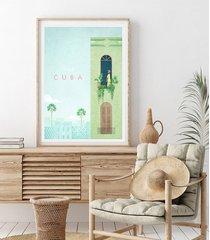 hawana - kuba - vintage plakat 50x70 cm