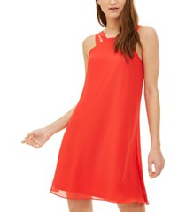 bar iii double-strap shift dress, created for macy's