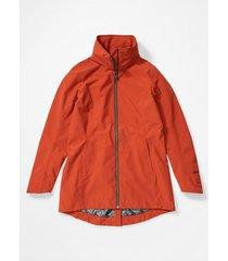 chaqueta lea naranja marmot