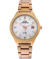 reloj dorado montreal rose