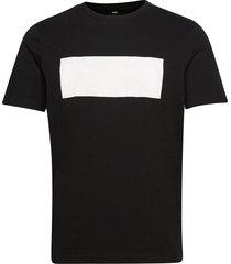 tee batch 1 t-shirts short-sleeved svart boss