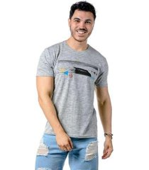 camiseta manga curta backdoor onp masculina - masculino