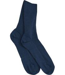 dubbelpak katoenen sokken, marineblauw 38/39