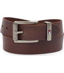 tommy hilfiger men's leather belt