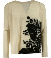 saint laurent side print pullover
