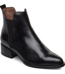 d-8707 shoes boots ankle boots ankle boot - heel svart wonders