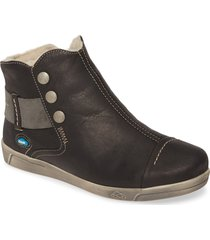 cloud aline bootie, size 10.5-11us in black leather at nordstrom