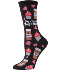 memoi perfect together women's novelty socks