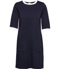 edy kort klänning blå jumperfabriken