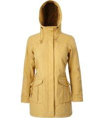 abrigo mujer emma mostaza doite