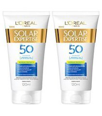 kit protetor solar l'oréal paris expertise supreme protect 4 fps 50 120ml 2 unidades