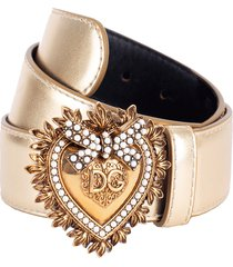 gold devotion belt