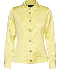 barbett jacket zomerjas dunne jas geel birgitte herskind