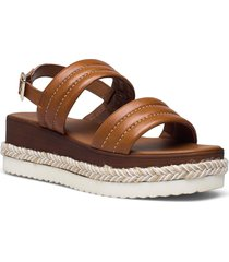 kazzy shoes summer shoes flat sandals brun dune london