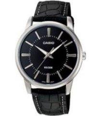 reloj casio ltp_1303l_1av negro cuero
