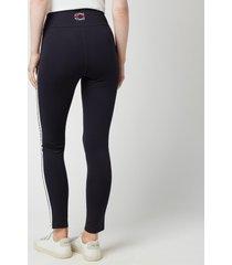 coach women's leggings - navy - l