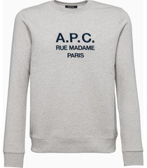 a.p.c. sweat rufus sweatshirt coebh-h27500