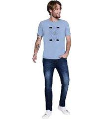 camiseta mc comfort arquitetura masculina - masculino