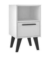 mesa de cabeceira 1 gaveta bpp 215-205 branco/
