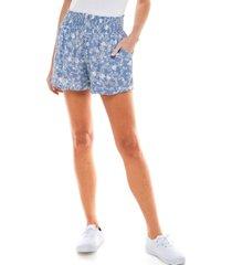 be bop juniors' smocked-waist shorts