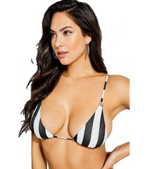 top bikini removable padded multicolor guess