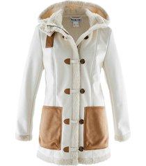 giacca in montone sintetico maite kelly (bianco) - bpc bonprix collection