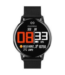 relógio digital mondaine masculino - 41002mpmvpe2 preto