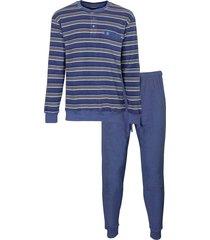heren pyjama badstof ph 2916a-3xl/58