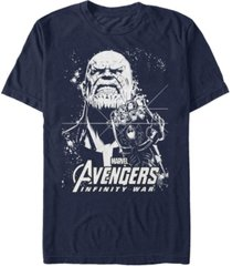 marvel men's avengers infinity war thanos ultimate force short sleeve t-shirt