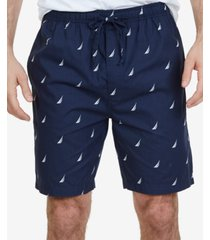 nautica men's signature pajama shorts