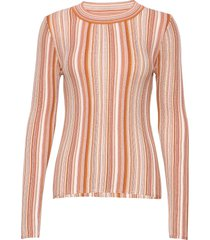 rodebjer vala stripe t-shirts & tops long-sleeved multi/patroon rodebjer