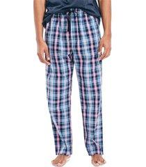 nautica men's blue plaid pajama pants