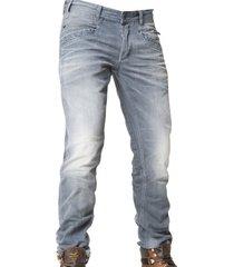 pme bare metal grijze jeans