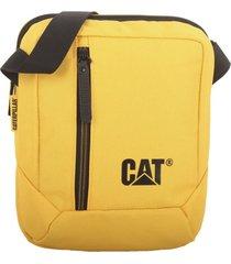 bolso tablet bag amarillo cat
