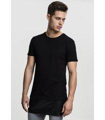 t-shirt korte mouw urban classics t-shirt urban classic long zipped