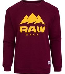 bluza raw logo