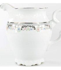 leiteira porcelana schmidt - dec. saint germain - multicolorido - dafiti