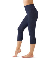 warner's easy does it seamless shaping capri leggings