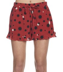 red valentino stelle ombre shorts