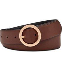 steve madden saffiano reversible belt