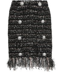 balmain skirt with fringes