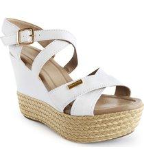 calzado dama plataforma 5 1/2 color blanco 522c01blanco
