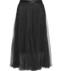 nuberezi skirt knälång kjol svart nümph